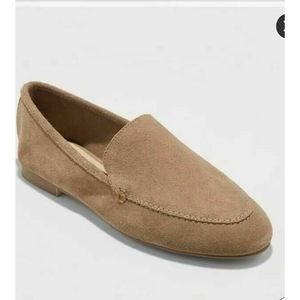 A New Day Loafer 11 Mila Suede Slip On Leather